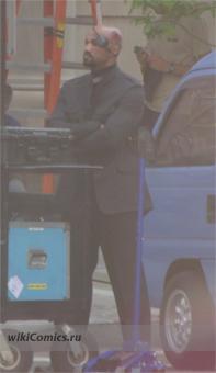 Сэмюэл Л. Джексон на съёмочной площадке