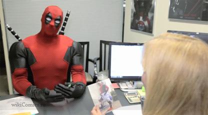 Видео: DEADPOOL претендует на работу в штаб-квартире Marvel
