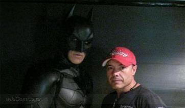 Новые снимки Джокер (Хит Леджер) и Бэтмен