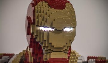 Статуи LEGO в натуральную величину