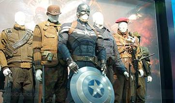 Обнавленный костюм Капитана Америки