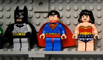 Коби Смолдерс озвучит Чудо-Женщину в фильме от LEGO