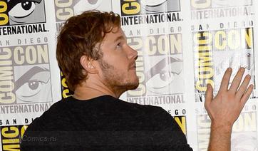 Фото звёзд Marvel Studios на Comic Con