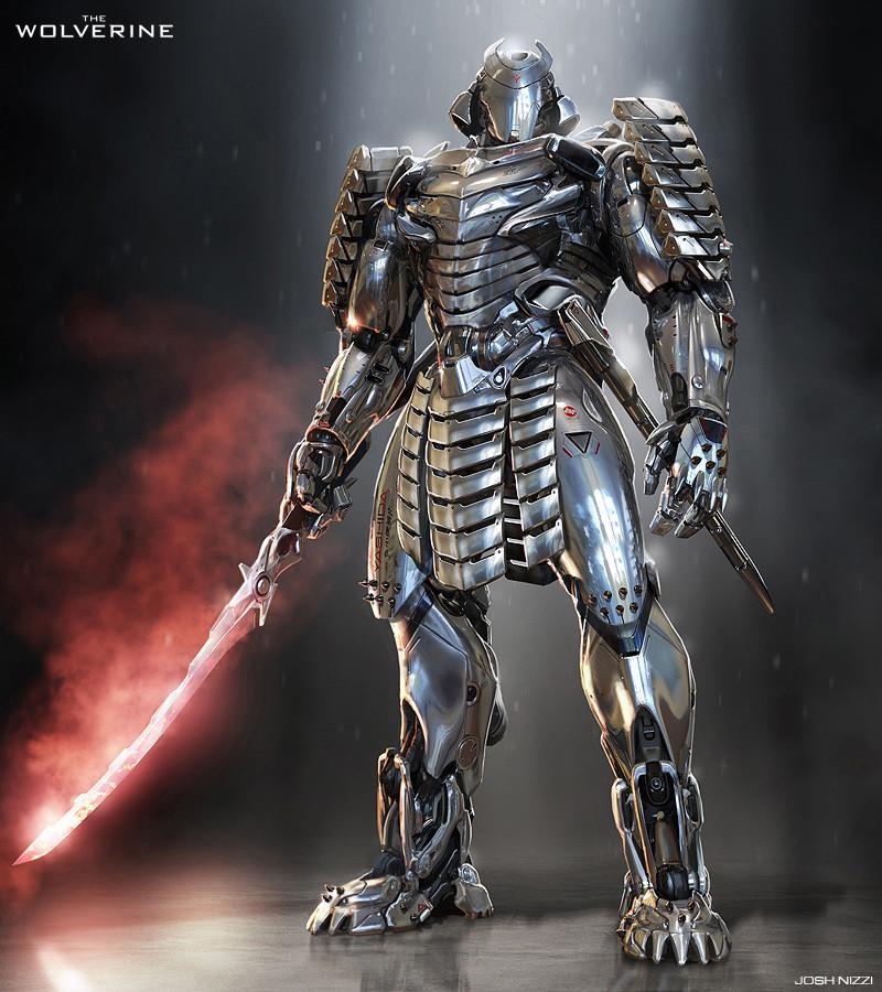 Концепт-арт: Серебряный Самурай и Железный Человек 3 ...
