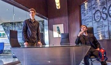 Фото с Питером и Гарри в офисе
