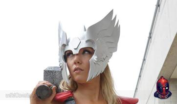 Косплей: Новая подборка Девушек в костюмах супергероев