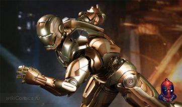 Игрушки Iron Man 3 в броне Марк XXI