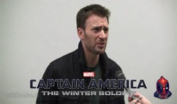Больше от Криса Эванса о Капитане Америке 2 и Мстителях 2