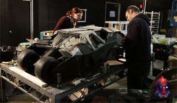 Миниатюры используемые в трилогии Криса Нолана истории про Бэтмена