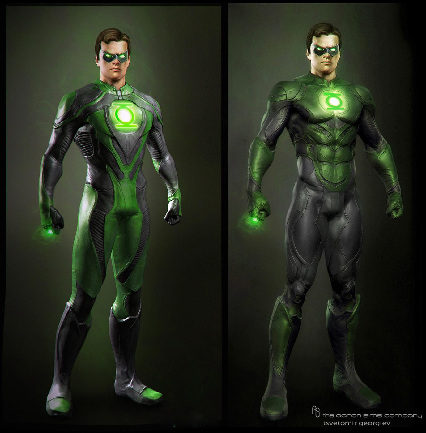 Модели создаваемые для фильма зелёный