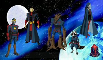 Стражи Галактики, время главного злодея фильма