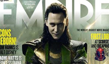 Тор и Локи на обложке журнала Empire