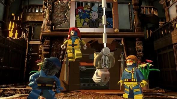 Нового трейлера игры lego marvel super heroes