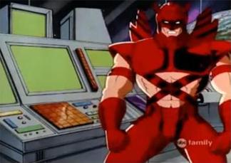Давань Шакари, использует псевдоним Эрика Красный в мультсериале Люди Икс