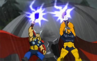 Тор появляется в анимационном фильме