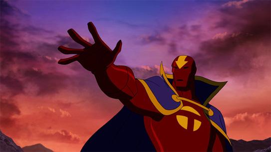 Красный Торнадо в мультсериале Юная Лига Справедливости