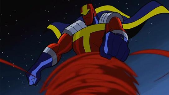 Красный Торнадо в мультсериале Бэтмен: Отважный и смелый
