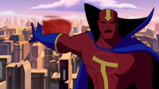 Красный Торнадо в мультсериале Лига справедливости