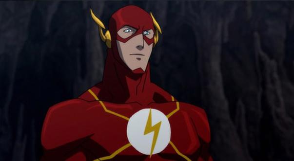Флэш появляется в Лига Справедливости: Парадокс источника конфликта