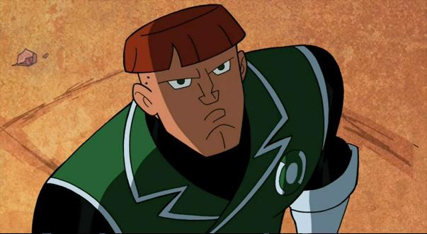 Зелёный Фонарь появляется в Бэтмен: Отвага и смелость