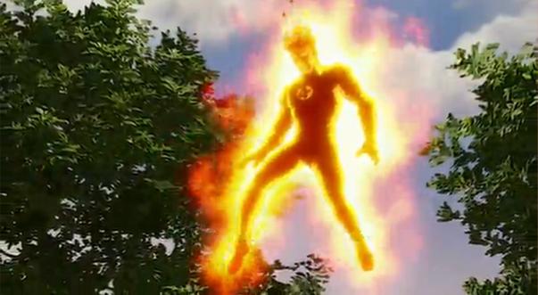 Человек-Факел в мультсериале Халк и агенты СМЭШ