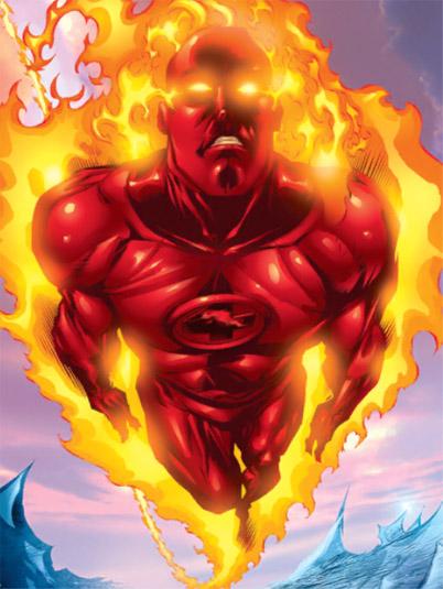 Человек-Факел (Human Torch) Джонни Сторм