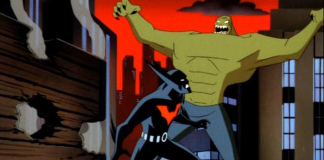 Киллер Крок в мультсериале Бэтмен будущего