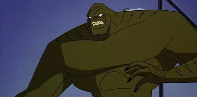 Киллер Крок в мультсериале Новые приключения Бэтмена