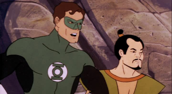 Зелёный Фонарь в Супер друзья