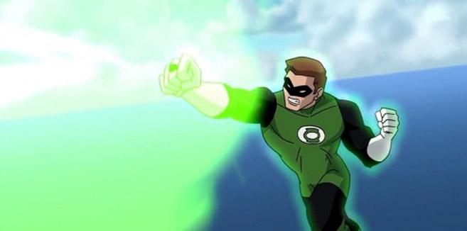 Зелёный Фонарь в Лига Справедливости: Новый барьер