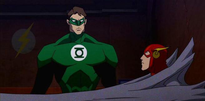 Зелёный Фонарь в Лига Справедливости: Парадокс источника конфликта