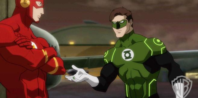Зелёный Фонарь в Лига Справедливости: Трон Атлантиды