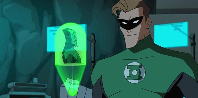 Зелёный Фонарь в Бэтмен