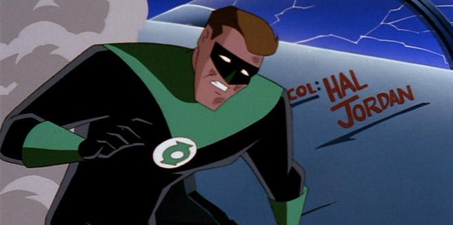Зелёный Фонарь в Супермен