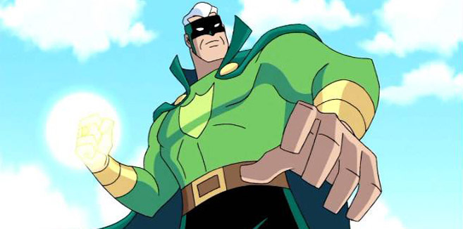 Зеленый Гвардеец в Лиги справедливости