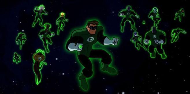 Зелёный Фонарь в Бэтмен: Отвага и смелость
