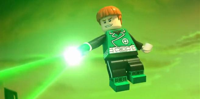 Зелёный Фонарь (Гай Гарднер) в LEGO супергерои DC: Лига справедливости против Лиги Бизарро