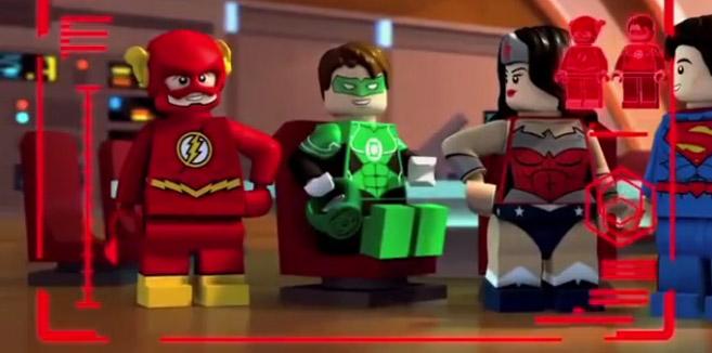 Зелёный Фонарь (Хэл Джордан) в LEGO супергерои DC: Лига Справедливости: Атака Легиона Смерти