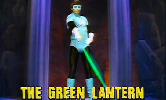 Зелёный Фонарь в Легенды супергероев