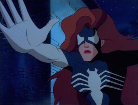 Женщина-паук (Джулия Карпентер) в мультсериале Железный человек
