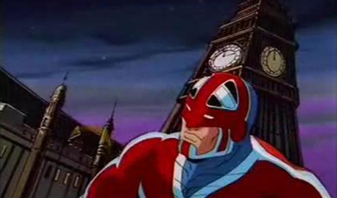 Капитан Британия в мультсериале Люди Икс