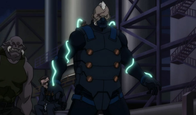 Электрошокер в анимационном фильме Бэтмен: Дурная кровь