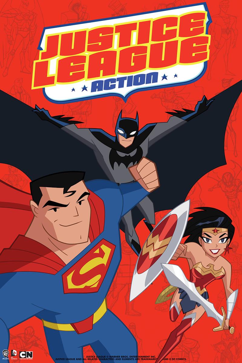 Новый мультсериал про Лигу Справедливости