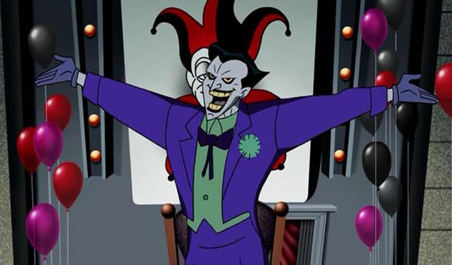 Джокер в мультсериале Лига Справедливости