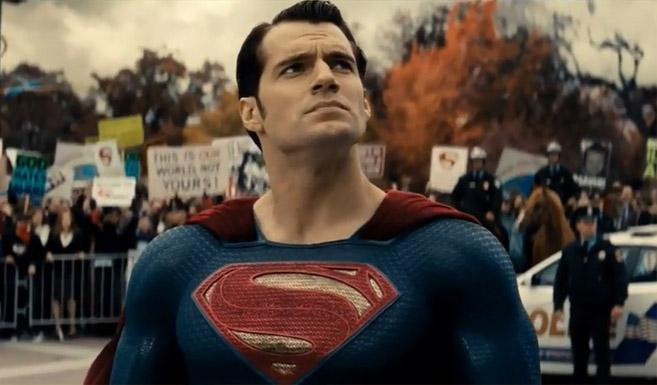 Супермен в фильме Бэтмен против Супермена На заре справедливости