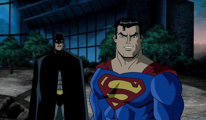 Супермен в Супермен/Бэтмен: Враги общества