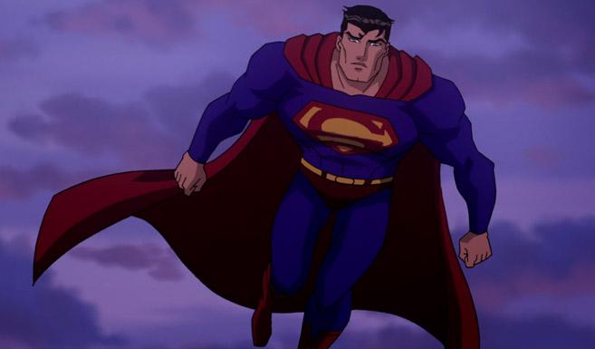 Супермен в анимационном фильме Супермен/Бэтмен: Апокалипсис