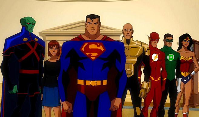 Супермен в Лига справедливости: Кризис двух миров
