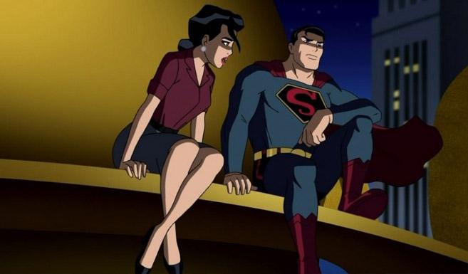 Супермен в Лига справедливости: Новый барьер