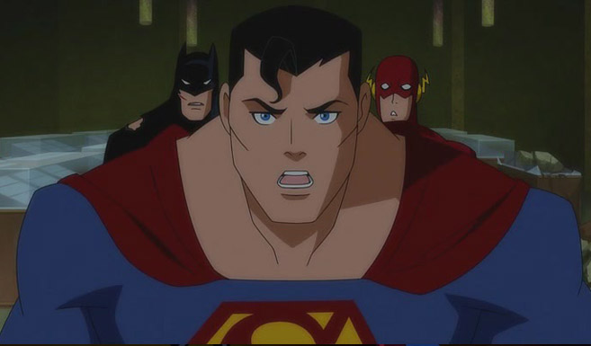 Супермен в Лига справедливости: Гибель